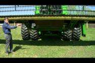 Grain Height Control Installation on JD 600D